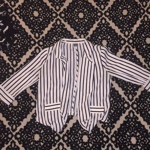 Black & White Striped Cardigan (Beetlejuice)